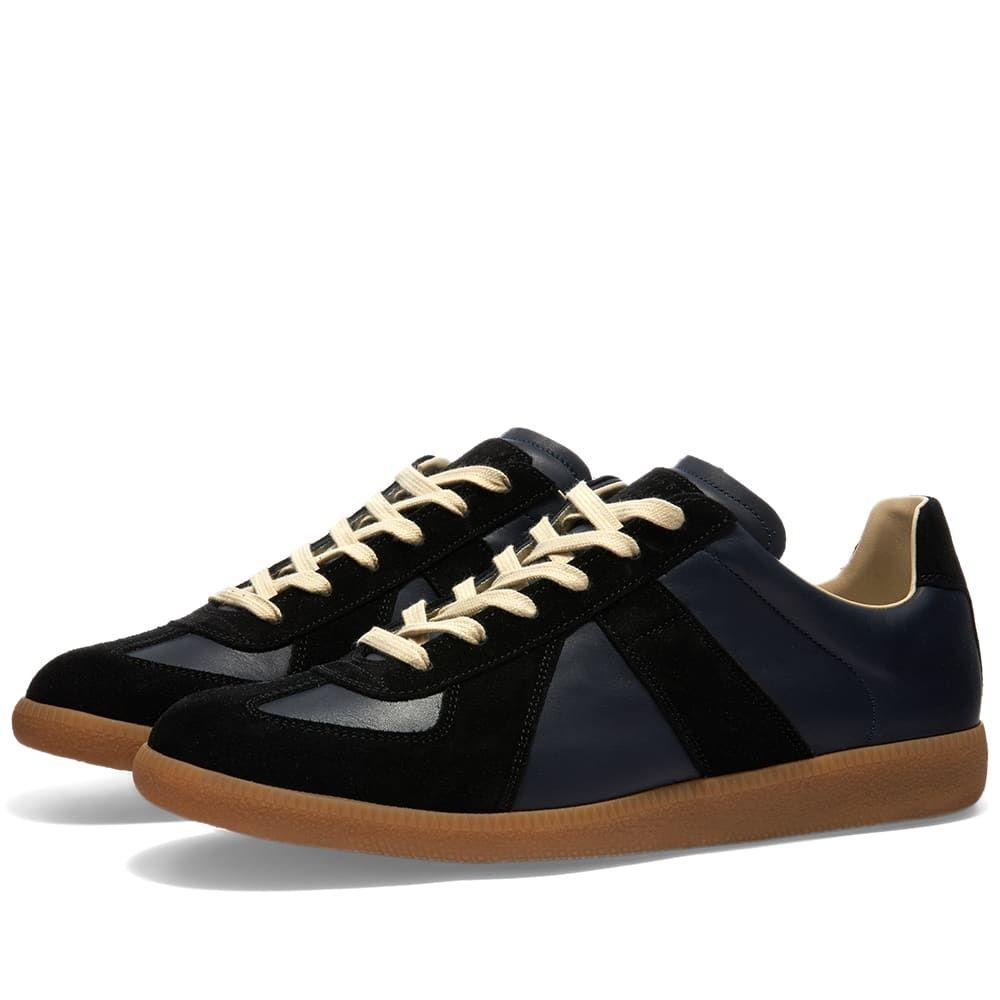 メゾン マルジェラ Maison Margiela メンズ スニーカー シューズ・靴【22 Classic Replica Sneaker】Navy/Black