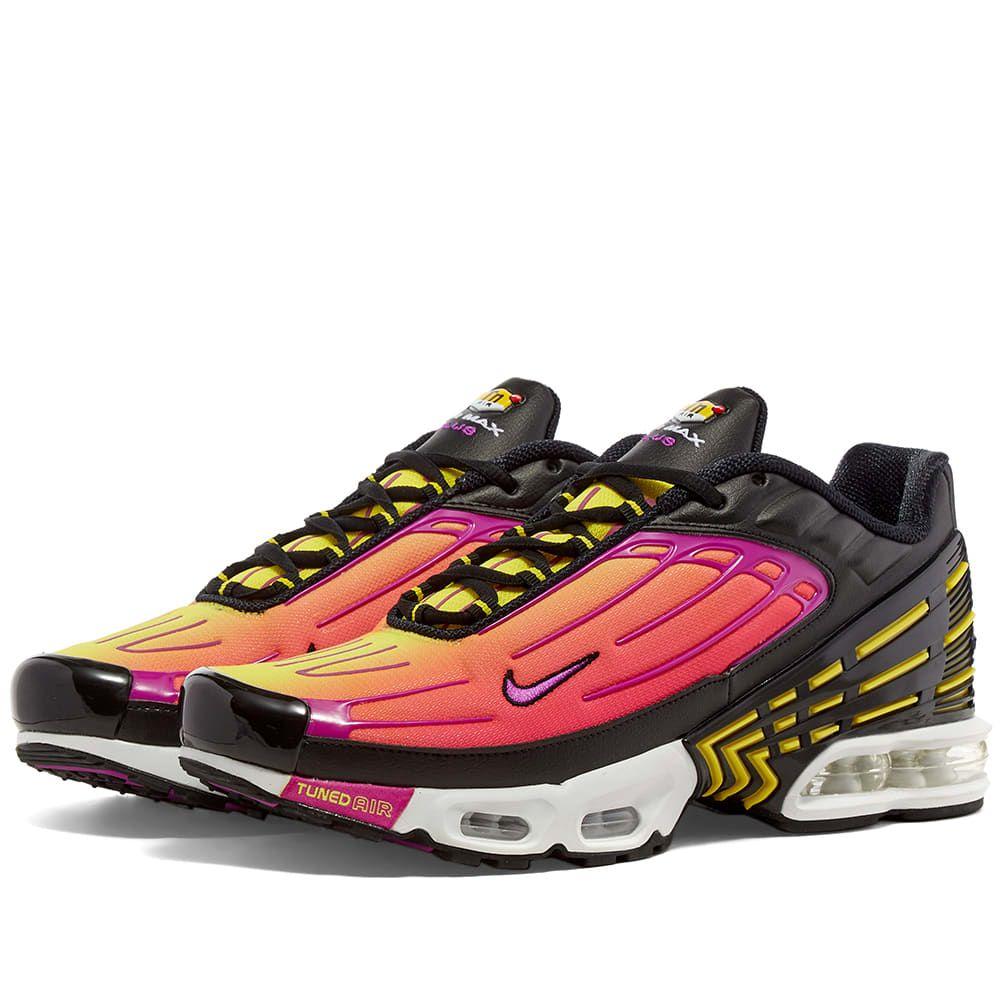 ナイキ Nike メンズ スニーカー エアマックス シューズ・靴【Air Max Plus III】Black/Violet/Pink