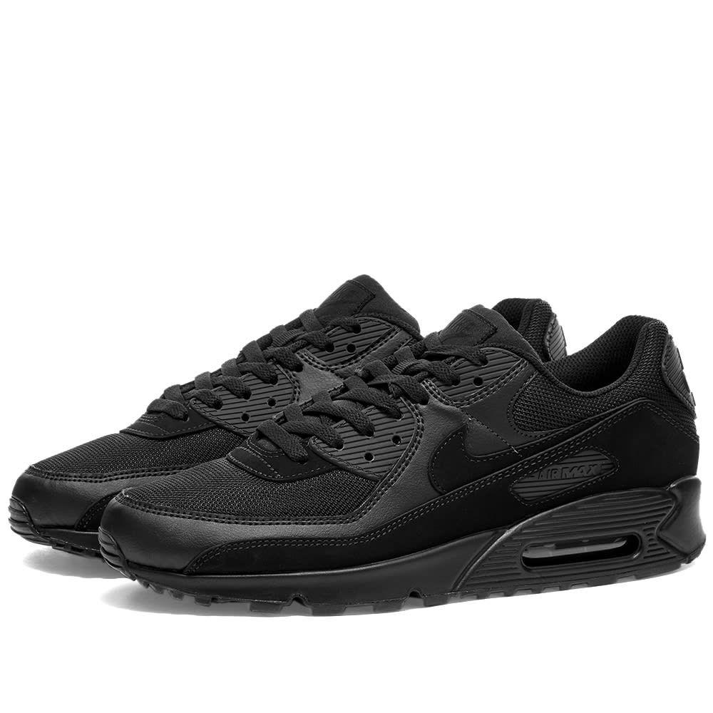 ナイキ Nike メンズ スニーカー シューズ・靴【Air Max 90】Black/White