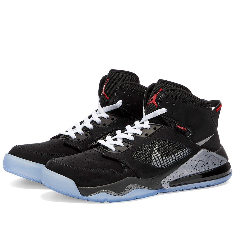 ナイキ ジョーダン Nike Jordan メンズ スニーカー シューズ・靴 Air Jordan Mars 270 Black Silver RedrdexBoCW