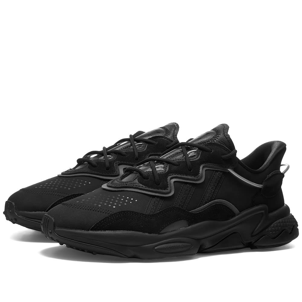 アディダス Adidas メンズ スニーカー シューズ・靴【Ozweego】Core Black/Metallic Night