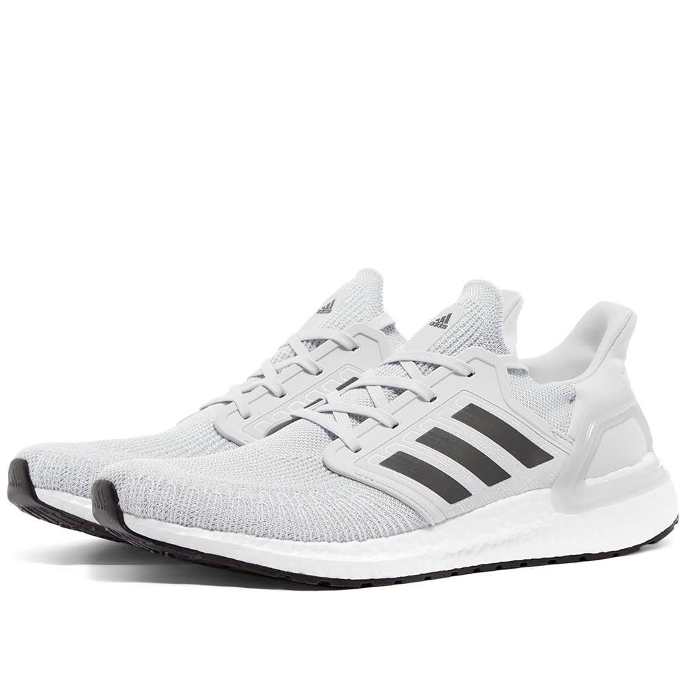 アディダス Adidas メンズ スニーカー シューズ・靴【Ultra Boost 20】Dash Grey/White