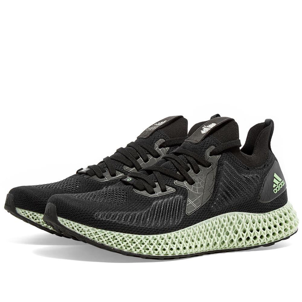 アディダス Adidas メンズ スニーカー シューズ・靴【Alphaedge x Star Wars 4D】Black/White