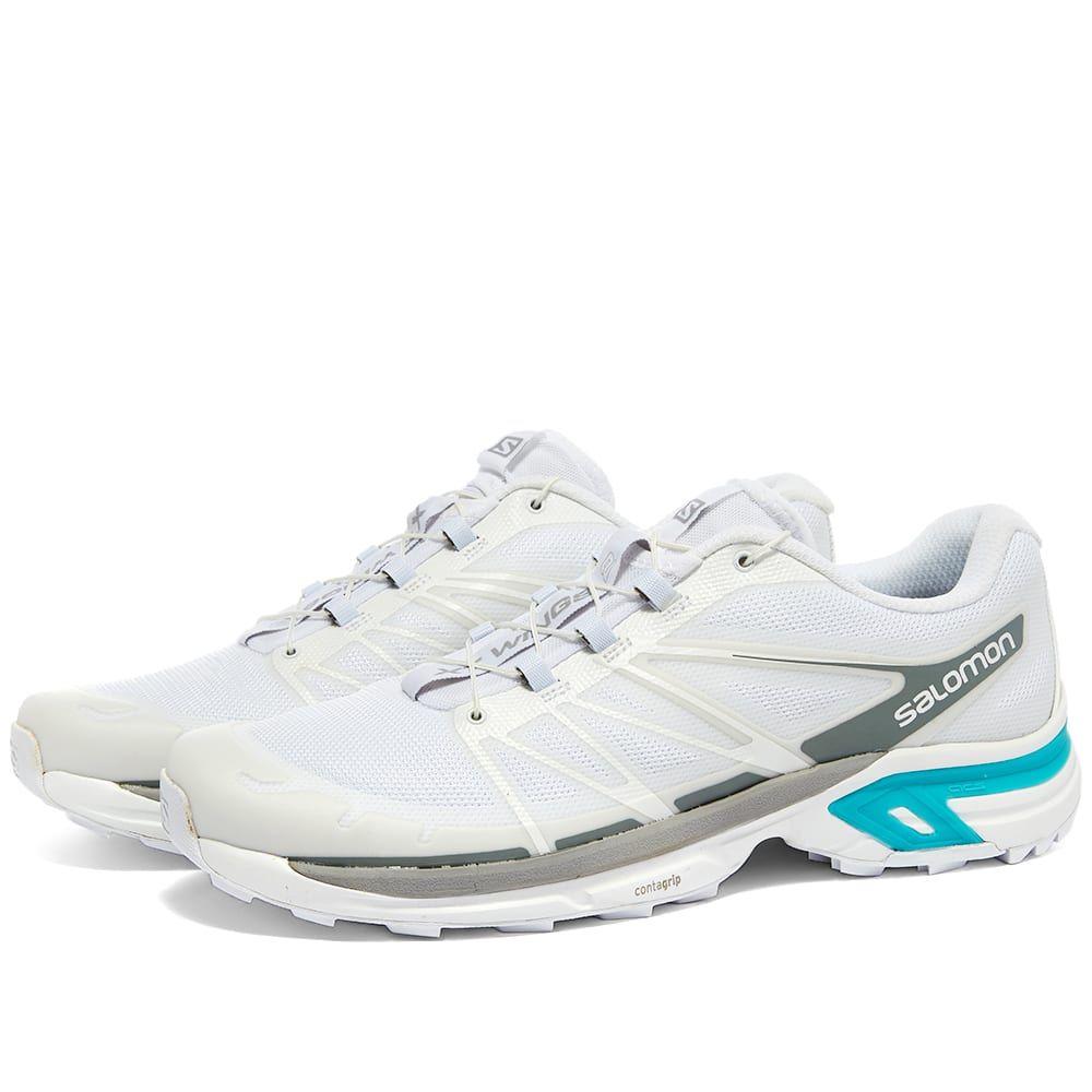 サロモン Salomon メンズ スニーカー シューズ・靴【XT-Wings 2 ADVANCED】White/Alloy/Bluebird