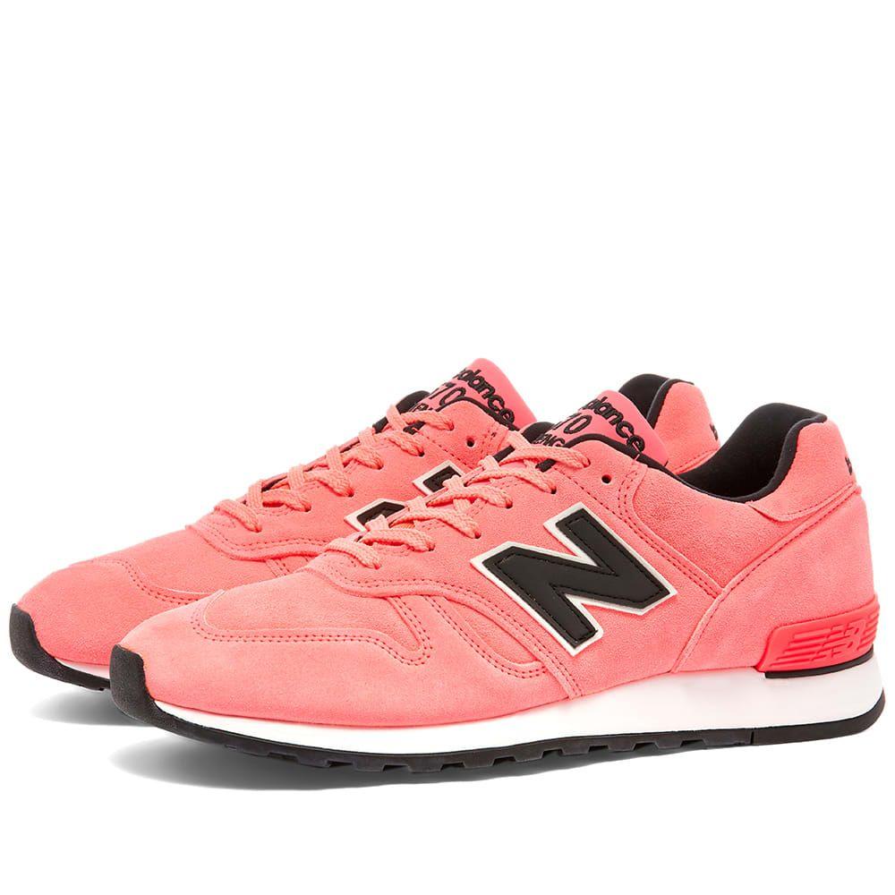 ニューバランス New Balance メンズ スニーカー シューズ・靴【M670NEN - Made in England 'Neon'】Pink