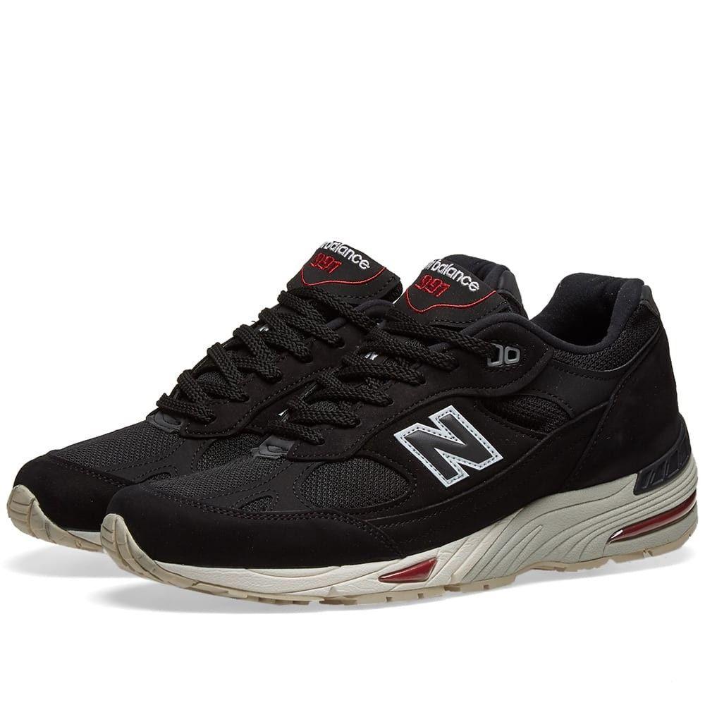 ニューバランス New Balance メンズ スニーカー シューズ・靴【M991NKR - Made in England】Black