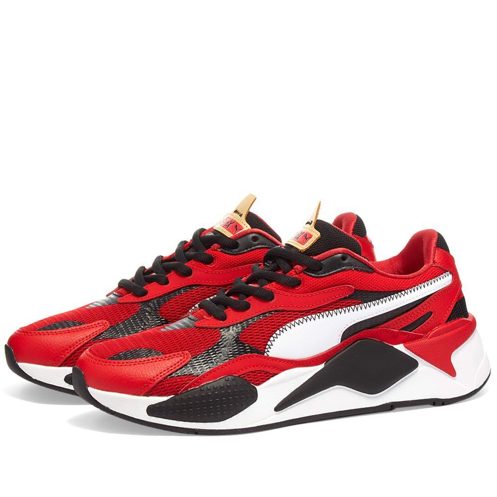 プーマ Puma メンズ スニーカー シューズ・靴【RS-X】High Risk Red/Puma White