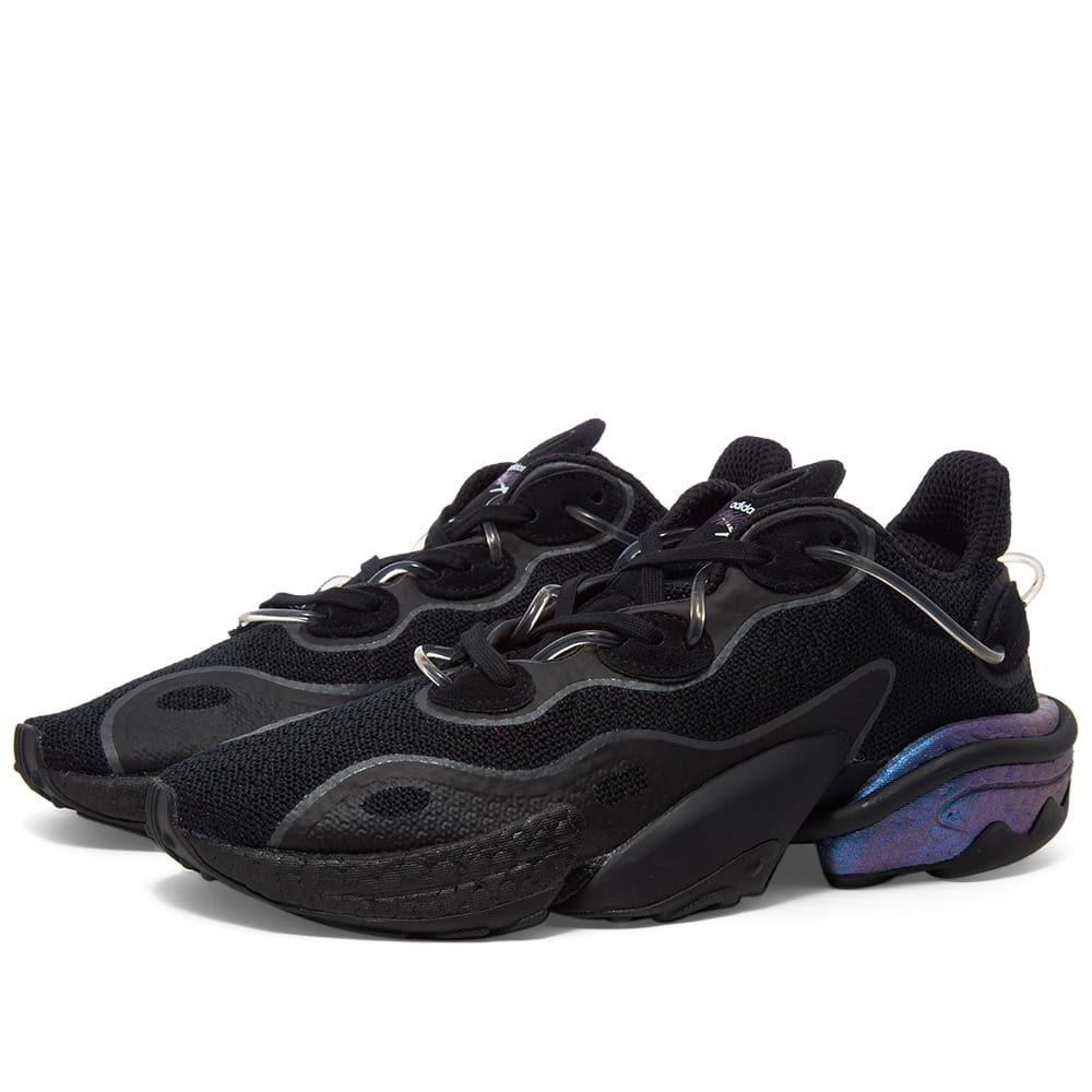 アディダス Adidas メンズ スニーカー シューズ・靴【Torsion X】Black/Metallic