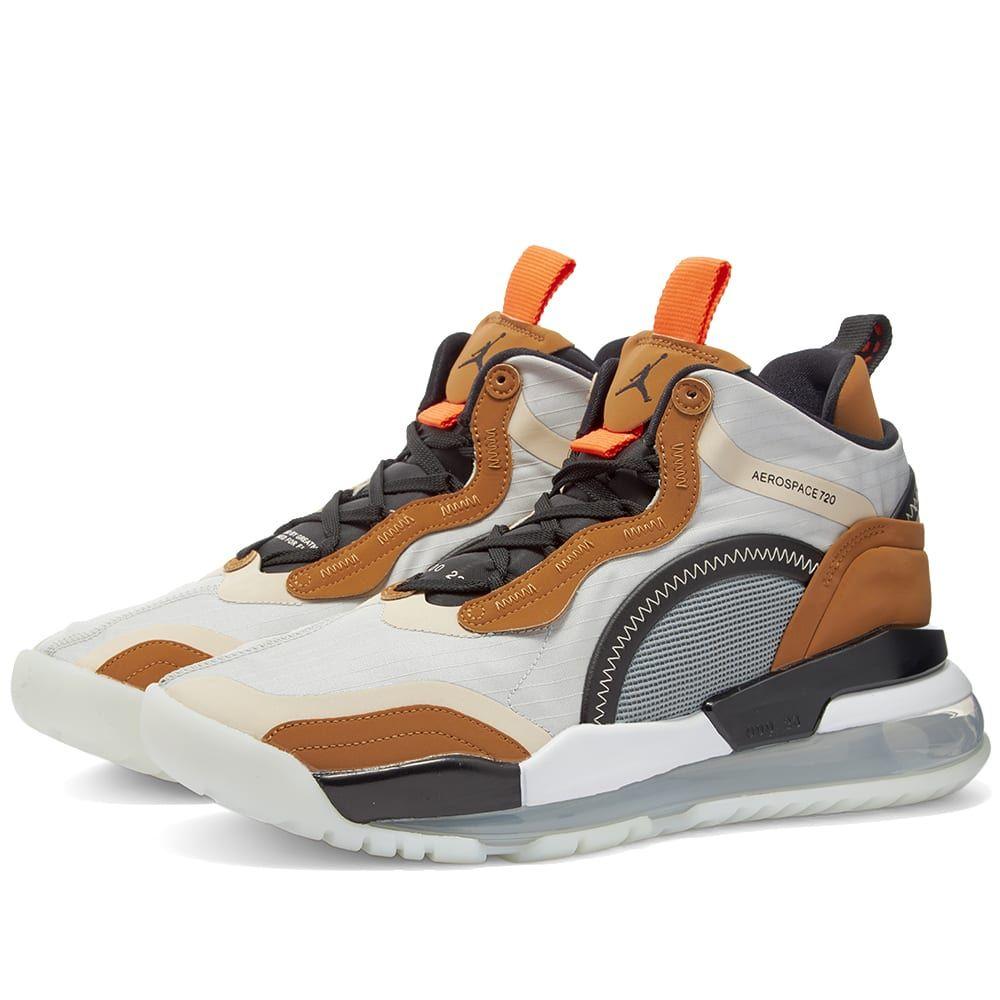ナイキ ジョーダン Nike Jordan メンズ スニーカー シューズ・靴【Air Jordan Aerospace 720】Grey/Black/Brown