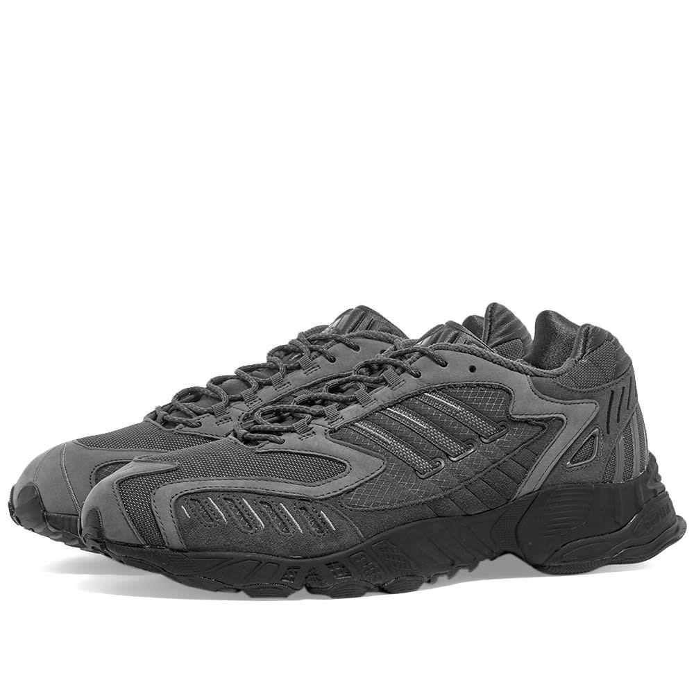 アディダス Adidas メンズ スニーカー シューズ・靴【Torsion TRDC】Grey/Black