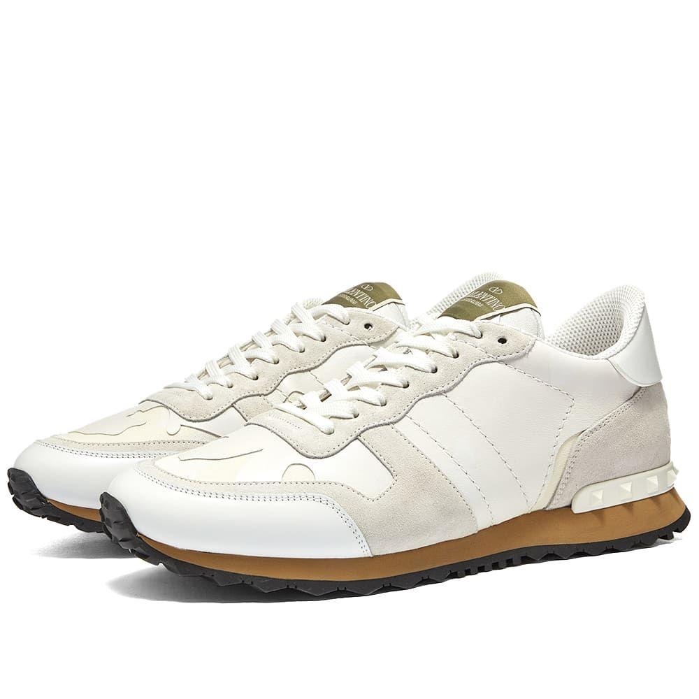 ヴァレンティノ Valentino メンズ スニーカー シューズ・靴【Rockrunner Sneaker】White Camo
