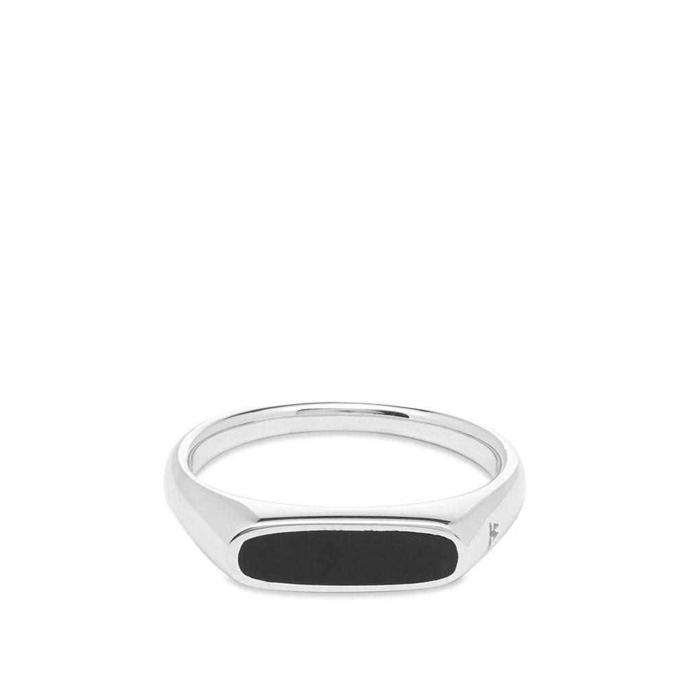 トムウッド Tom Wood メンズ 指輪・リング ジュエリー・アクセサリー【Mario Ring】Onyx