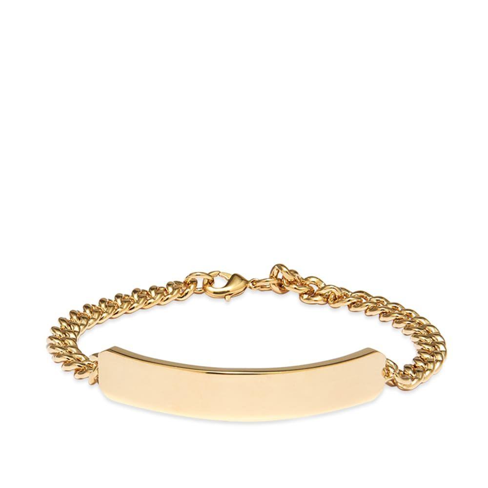 アーペーセー A.P.C. メンズ ブレスレット ジュエリー・アクセサリー【Darwin Bracelet】Gold