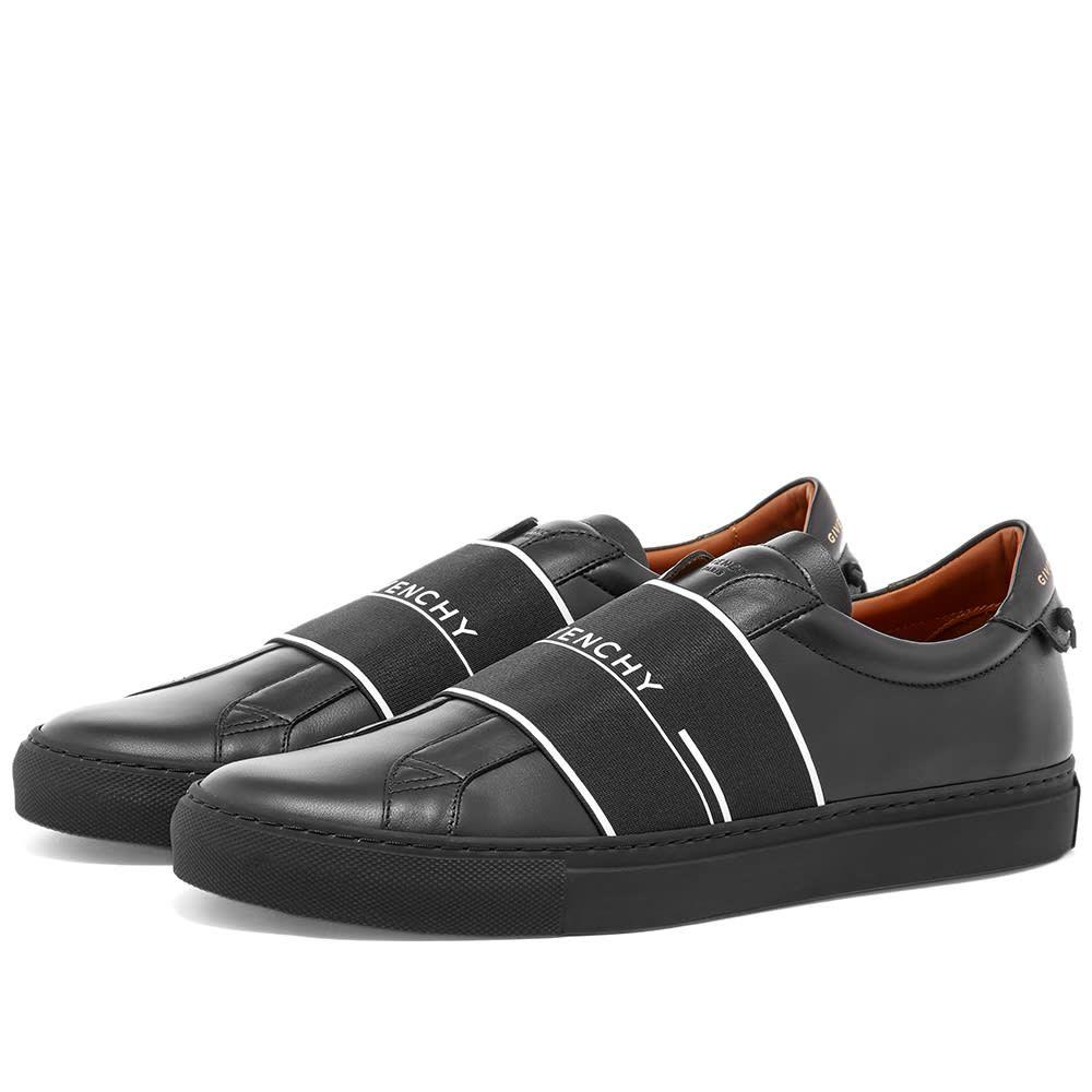 ジバンシー Givenchy メンズ スニーカー ローカット シューズ・靴【Urban Street Low Elastic Tape Sneaker】Black