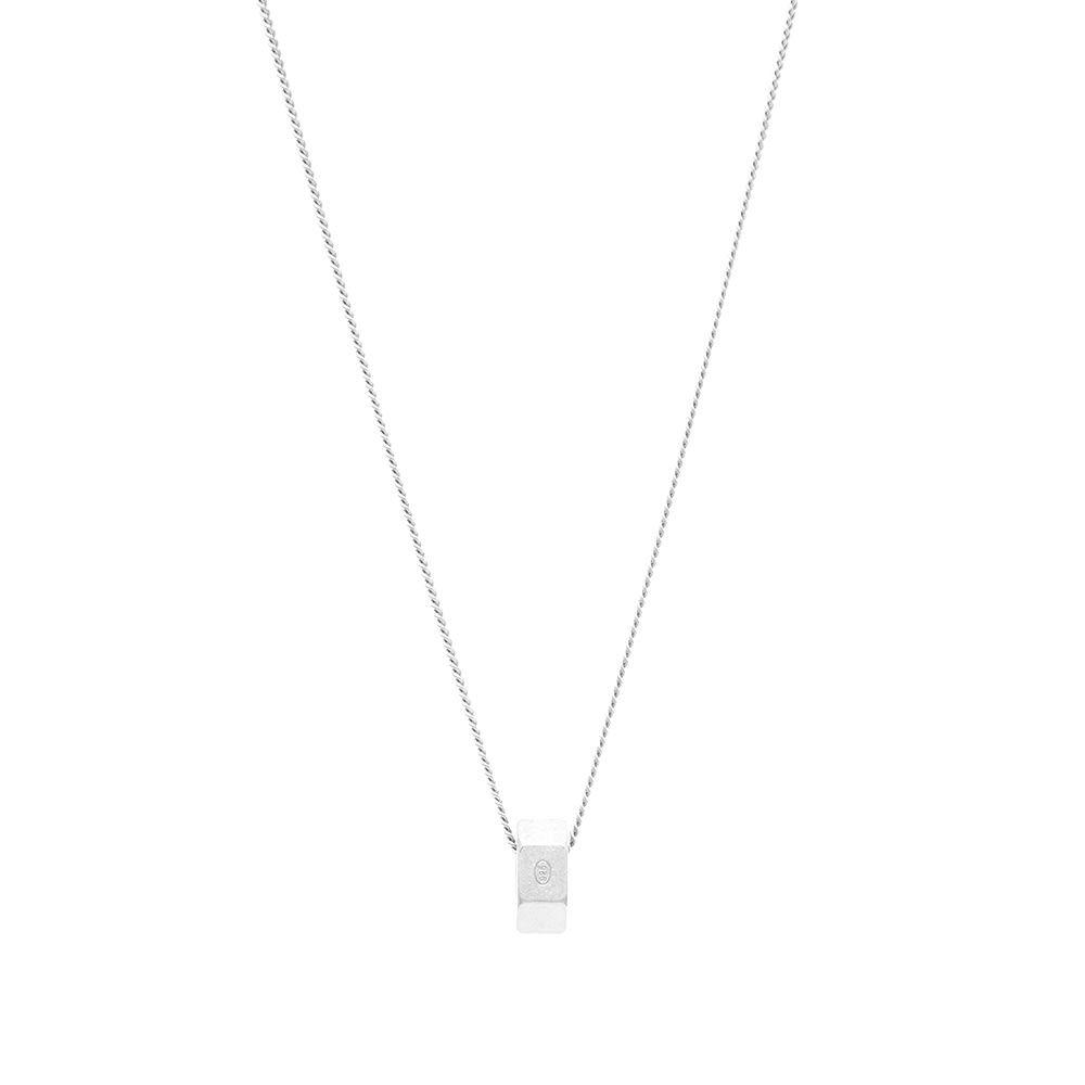 メゾン マルジェラ Maison Margiela メンズ ネックレス ジュエリー・アクセサリー【11 Bolt Necklace】Silver