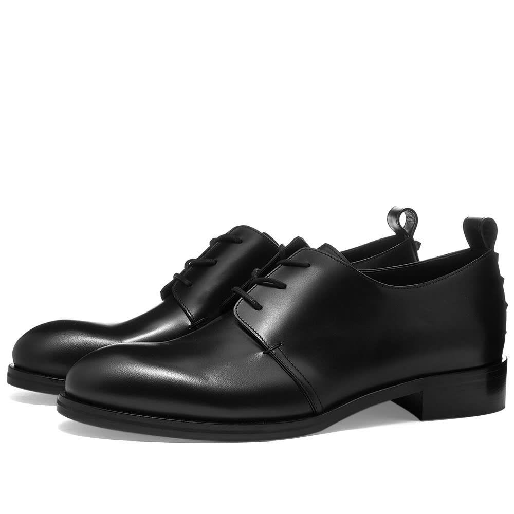 ヴァレンティノ Valentino メンズ 革靴・ビジネスシューズ ダービーシューズ シューズ・靴【Rockstud Heel Leather Derby Shoe】Black