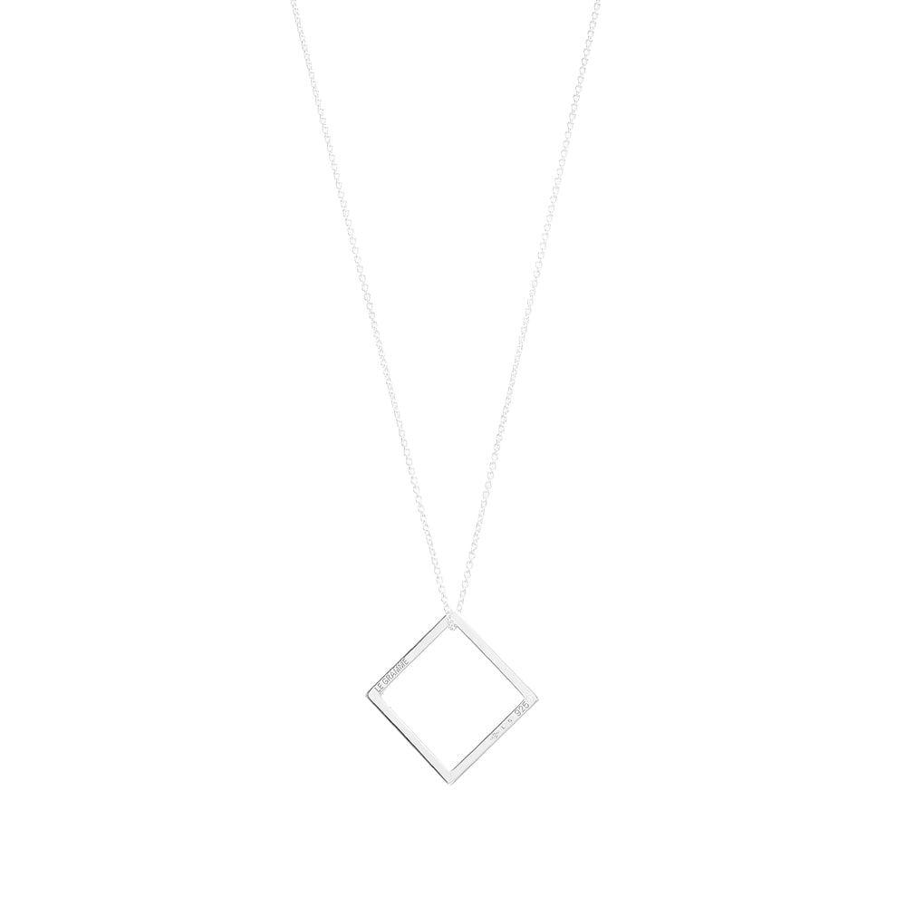 ルグラム Le Gramme メンズ ネックレス ジュエリー・アクセサリー【Slick Pendant Necklace】1.7g