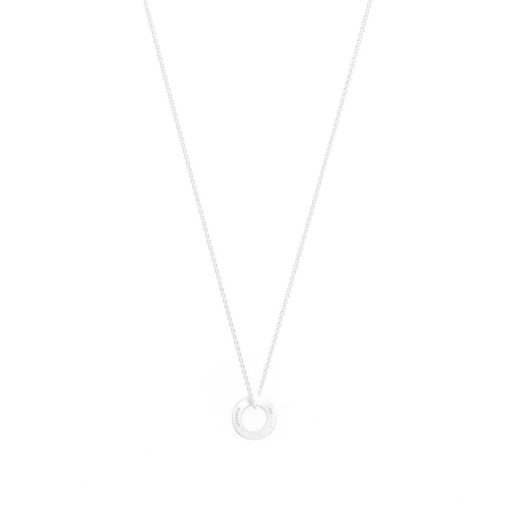 ルグラム Le Gramme メンズ ネックレス ジュエリー・アクセサリー【Slick Pendant Necklace】Silver 1.1g