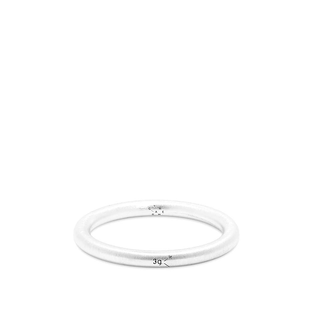 ルグラム Le Gramme メンズ 指輪・リング バングル ジュエリー・アクセサリー【Brushed Bangle Ring】Silver 3g