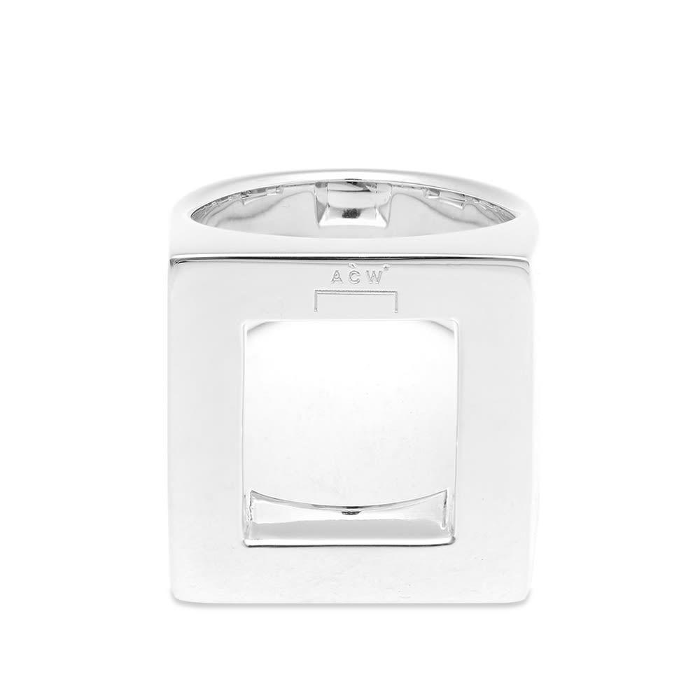 アコールドウォール A-COLD-WALL* メンズ 指輪・リング ジュエリー・アクセサリー【Oversize Silver Ring】Silver