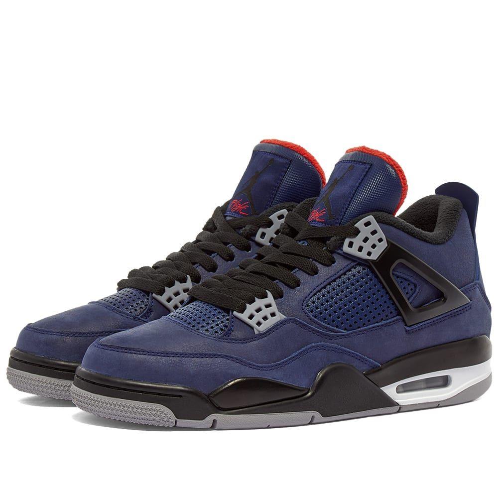 ナイキ ジョーダン Nike Jordan メンズ スニーカー シューズ・靴【Air Jordan 4 Retro WNTR】Loyal Blue