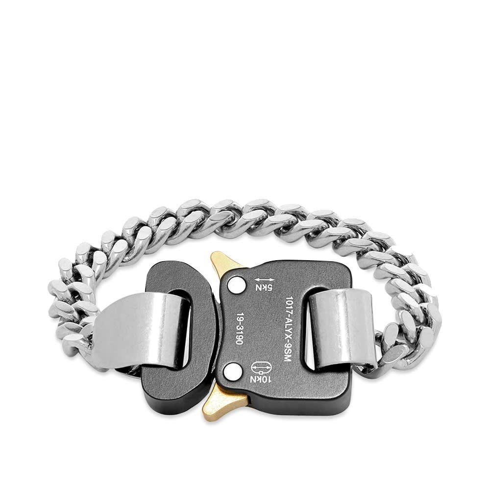 アリクス 1017 ALYX 9SM メンズ ブレスレット ジュエリー・アクセサリー【Classic Chain Link Barcelet】Silver/Black