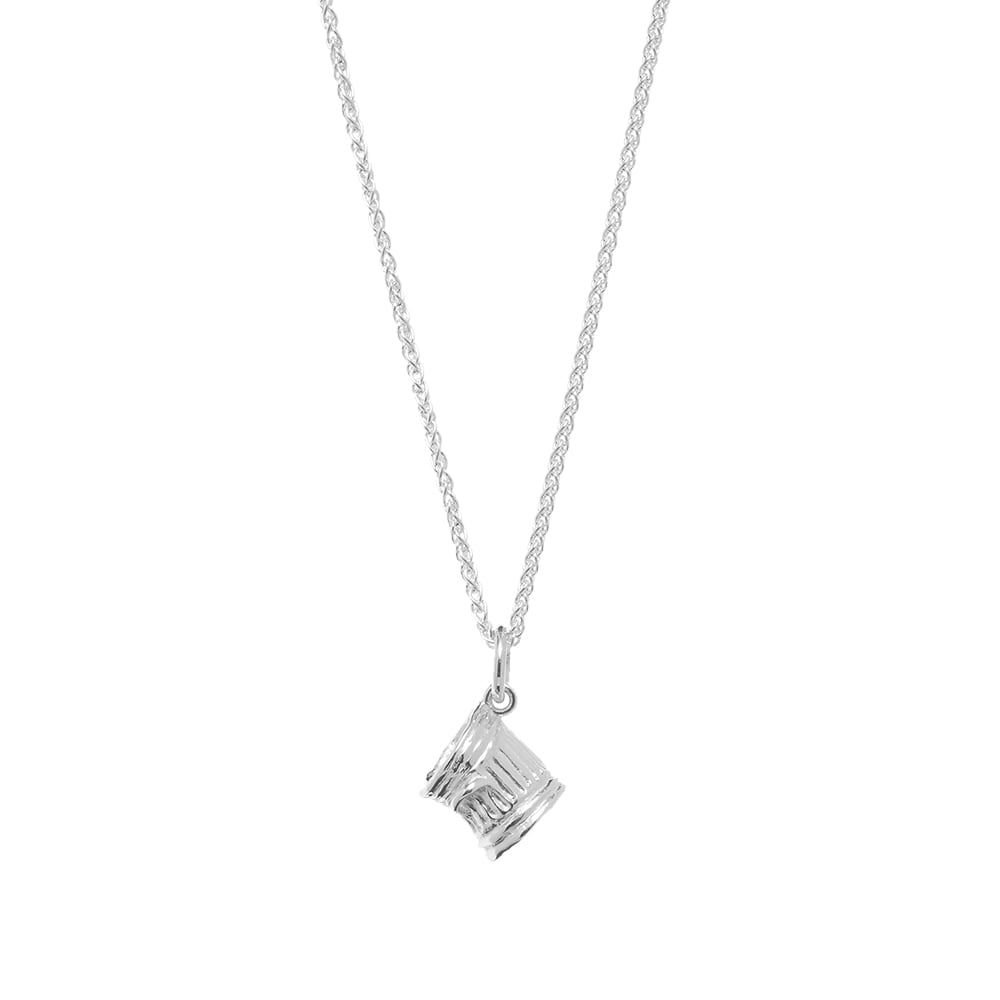 ハットンラボ Hatton Labs メンズ ネックレス ジュエリー・アクセサリー【Trash Pendant Necklace】925 Sterling Silver