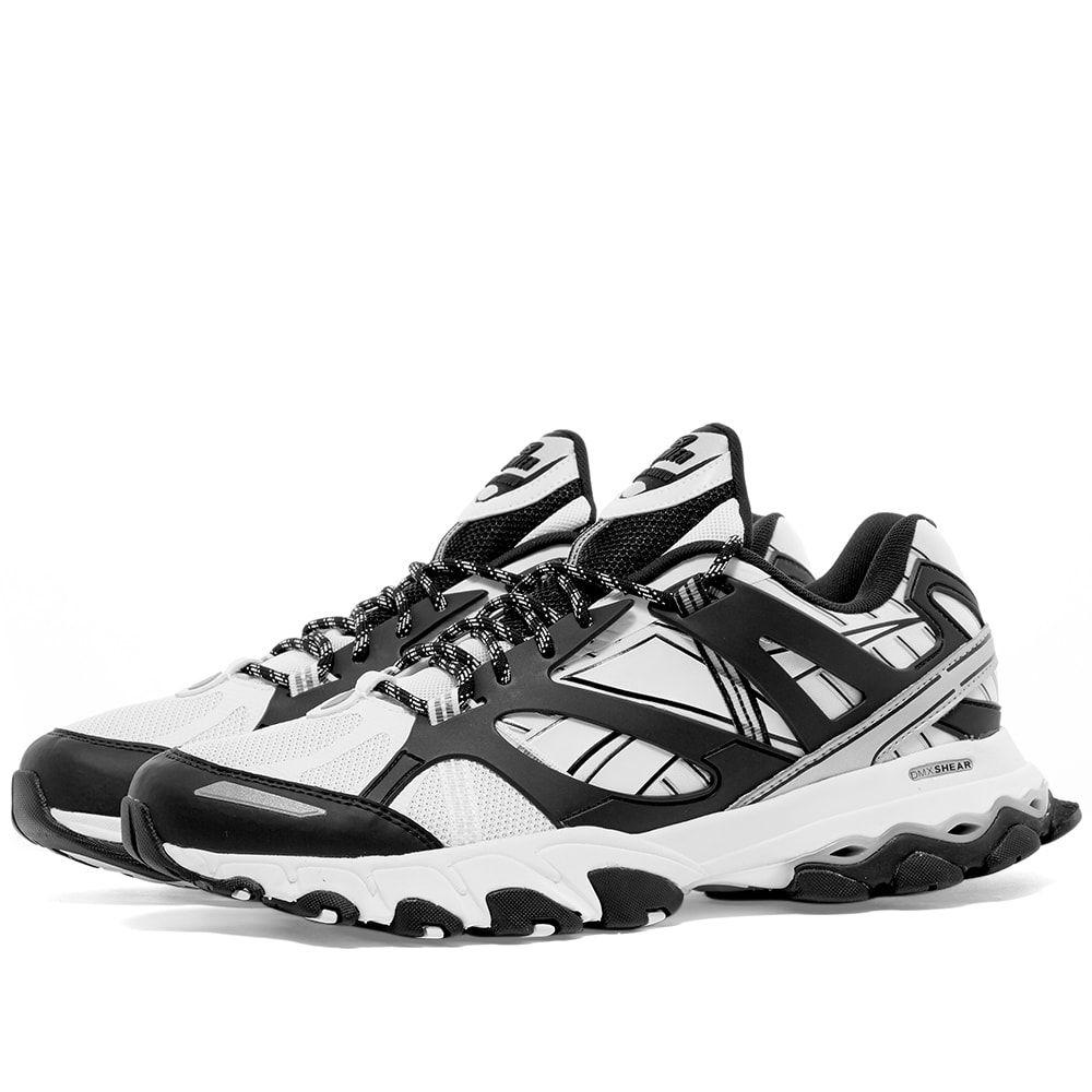 リーボック Reebok メンズ スニーカー シューズ・靴【DMX Trail Shadow】White& Black