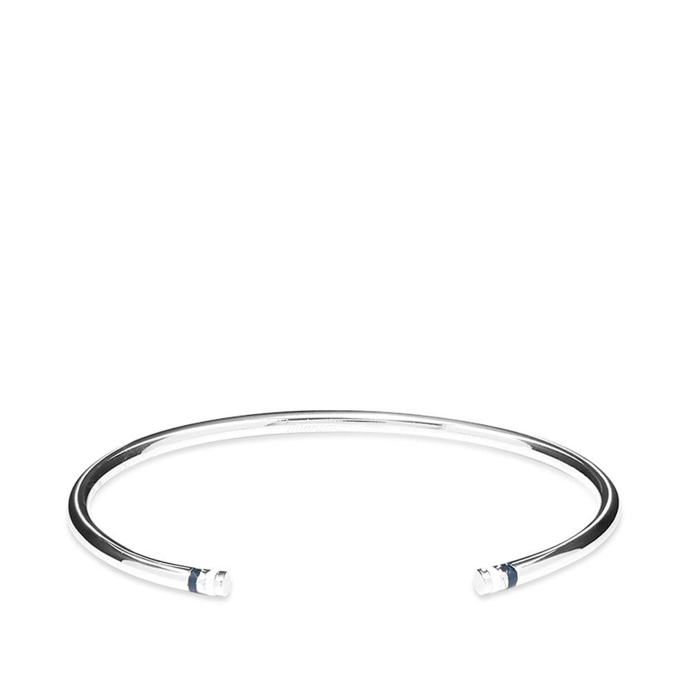 ミアンサイ Miansai メンズ ブレスレット ジュエリー・アクセサリー【Aire Cuff】Silver/Navy/White