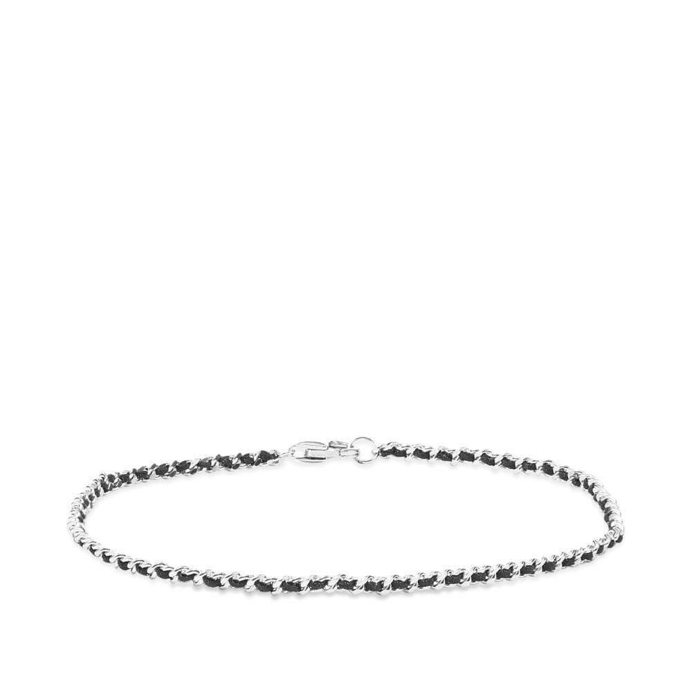 ミアンサイ Miansai メンズ ブレスレット ジュエリー・アクセサリー【2mm Woven Chain Bracelet】Silver
