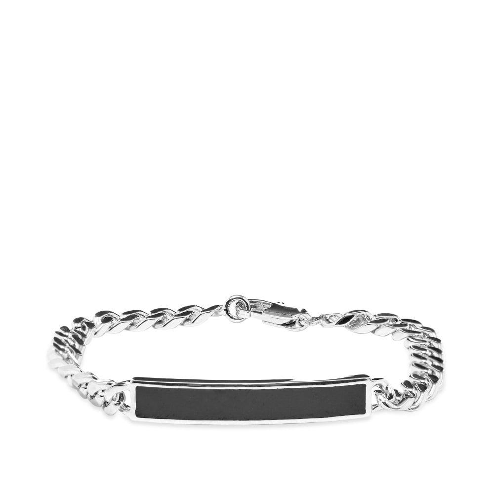アーペーセー A.P.C. メンズ ブレスレット ジュエリー・アクセサリー【Marius ID Bracelet】Silver