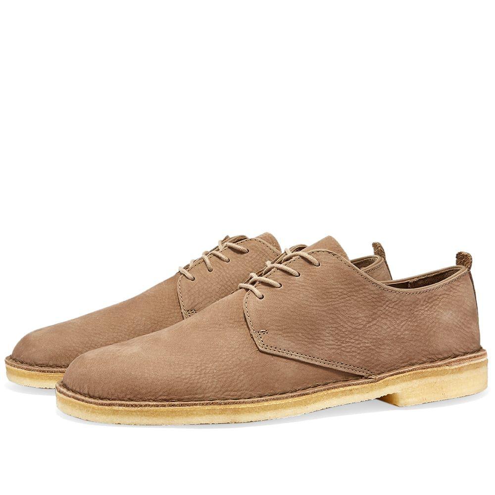 クラークス Clarks Originals メンズ シューズ・靴 【Desert London】Mushroom Nubuck