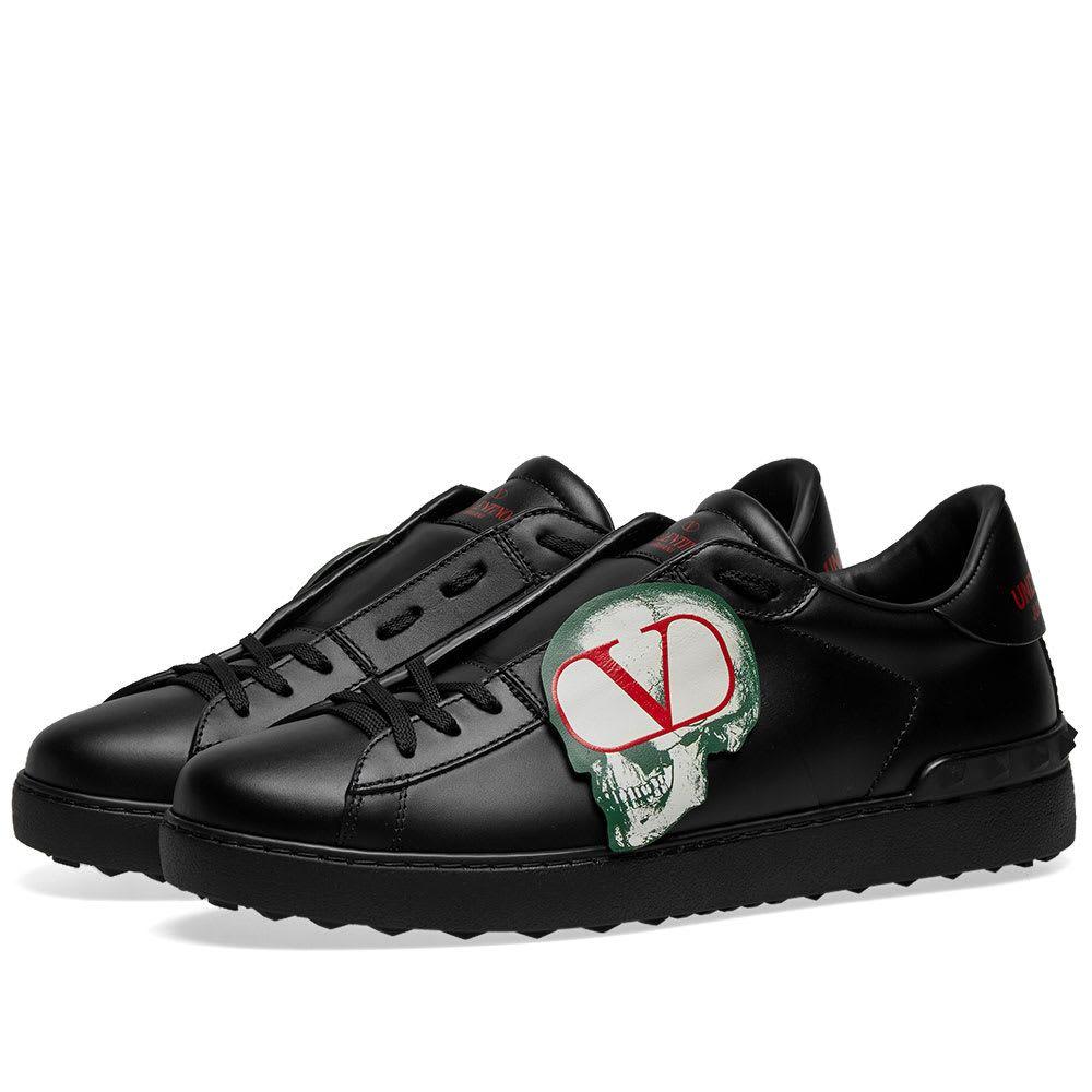ヴァレンティノ Valentino メンズ スニーカー ローカット シューズ・靴【x Undercover Skull Open Low Sneaker】Black/Multi