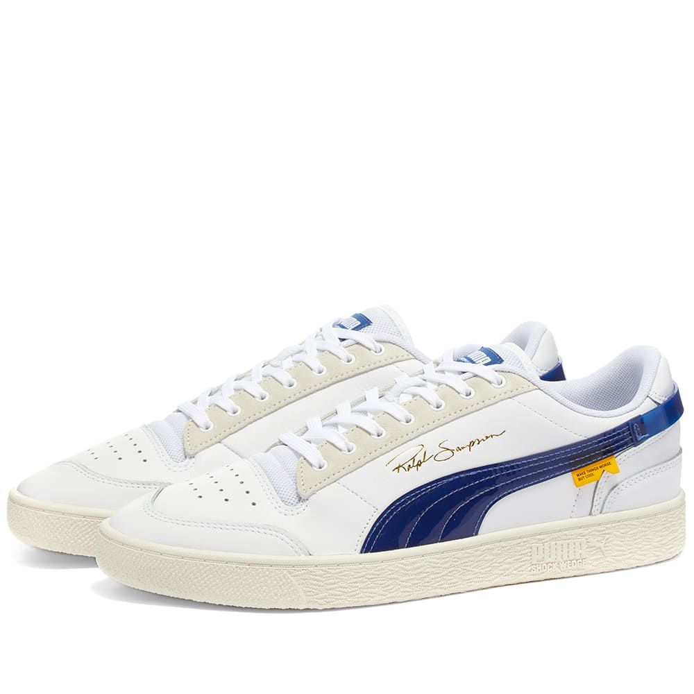 プーマ Puma メンズ スニーカー シューズ・靴【x Random Event Ralph Sampson】Puma White/True Blue