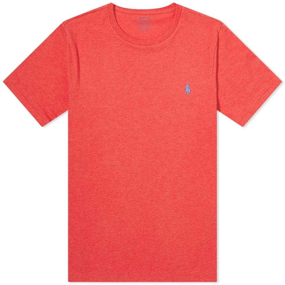 ラルフ 売り込み ローレン メンズ トップス Tシャツ Rosette Heather サイズ交換無料 Lauren Polo Ralph Fit 全国一律送料無料 Tee Custom