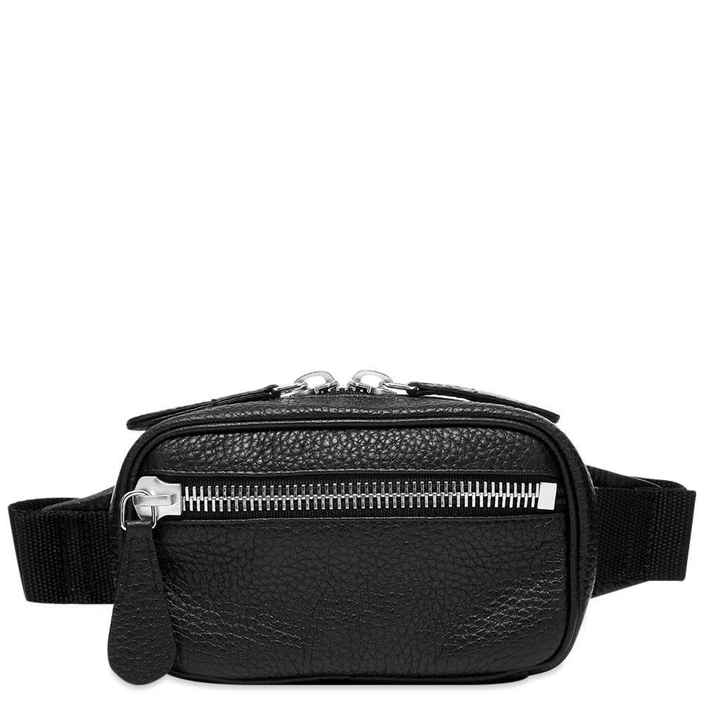 メゾン マルジェラ Maison Margiela メンズ ボディバッグ・ウエストポーチ バッグ【11 Grain Leather Belt Bag】Black