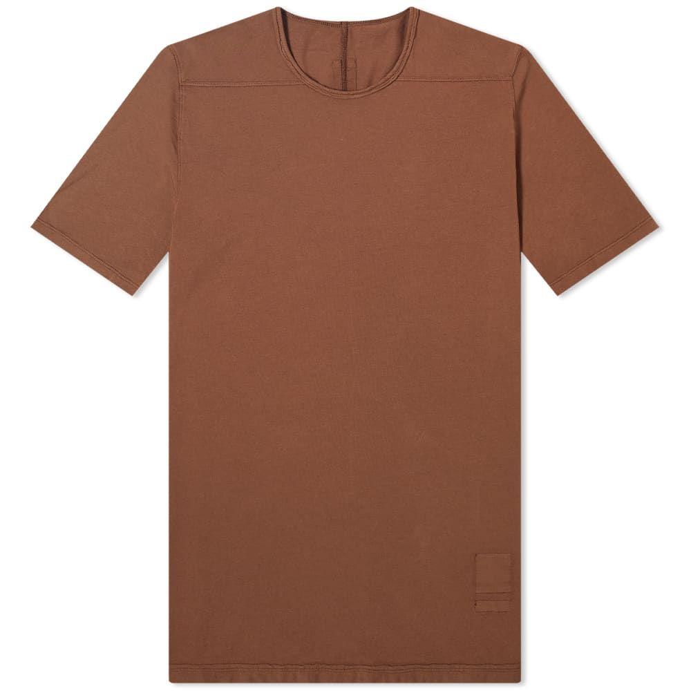 リック オウエンス Rick Owens メンズ Tシャツ トップス【DRKSHDW Level Tee】Bark