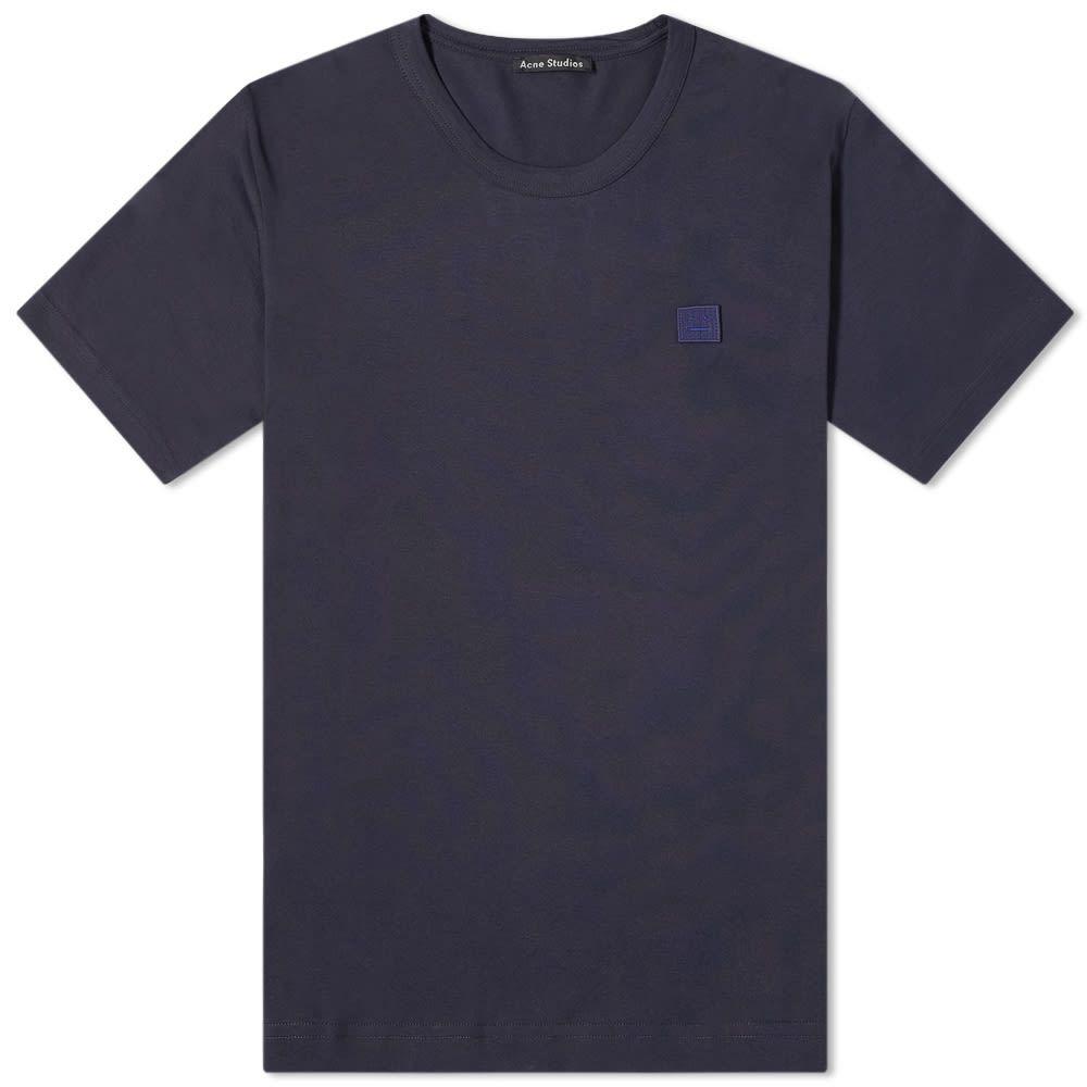 アクネ ストゥディオズ Acne Studios メンズ Tシャツ トップス【Nash Tee】Navy
