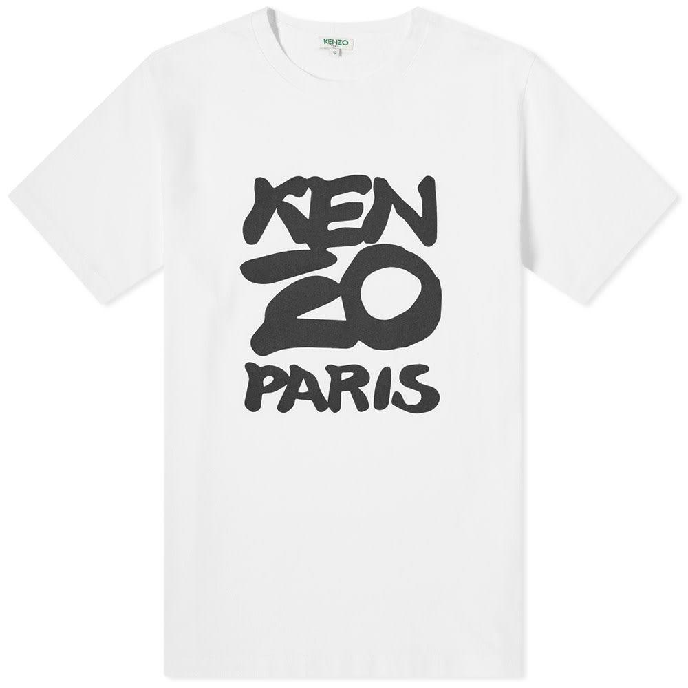 ケンゾー Kenzo メンズ Tシャツ トップス【Seasonal Print Tee】White