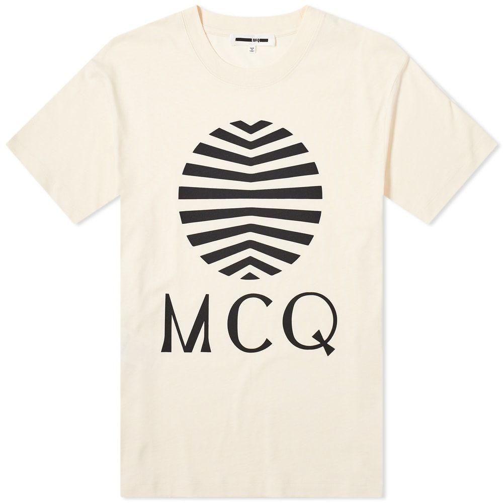 アレキサンダー マックイーン McQ Alexander McQueen メンズ Tシャツ ロゴTシャツ トップス【Sun Logo Tee】Oyster