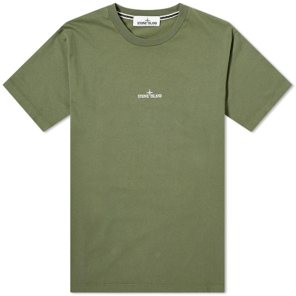好きに ストーンアイランド Stone Stone Island メンズ Tシャツ ロゴTシャツ トップス【Chest Tee】Olive Logo Logo Back Print Tee】Olive:フェルマート, びたみん農園:e3d201e3 --- nagari.or.id