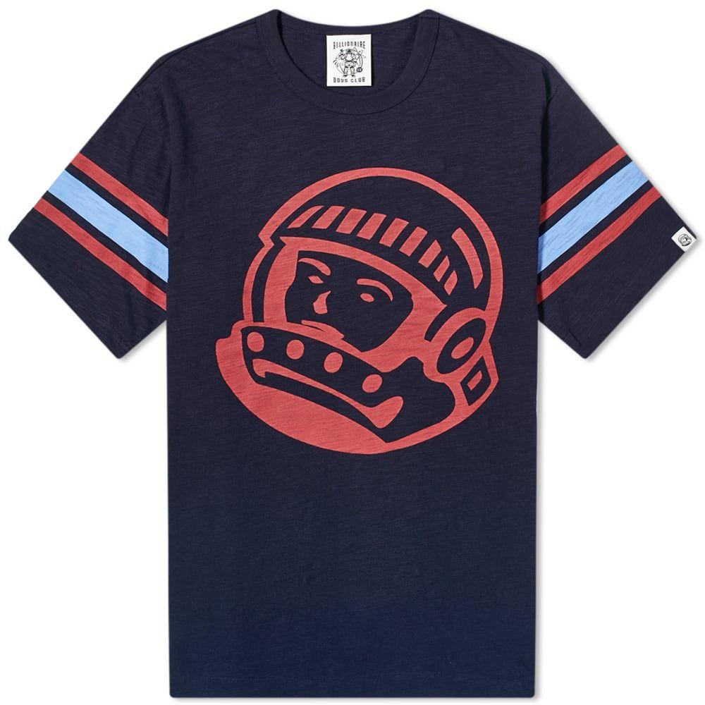 ビリオネアボーイズクラブ Billionaire Boys Club メンズ Tシャツ トップス【Astro Retro Slub Tee】Navy