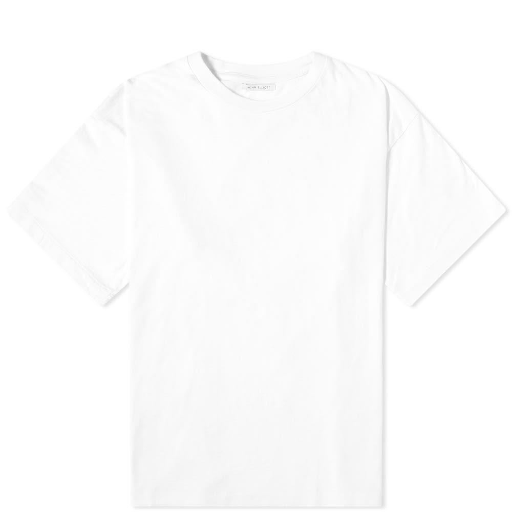 ジョン エリオット John Elliott メンズ Tシャツ トップス【University Tee】White