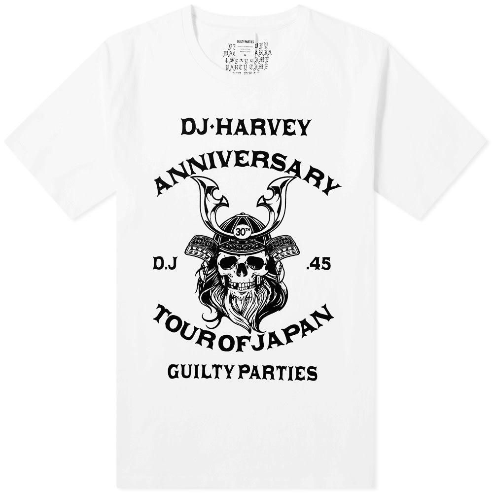 ワコマリア Wacko Maria メンズ Tシャツ トップス【x DJ Harvey Tee】White