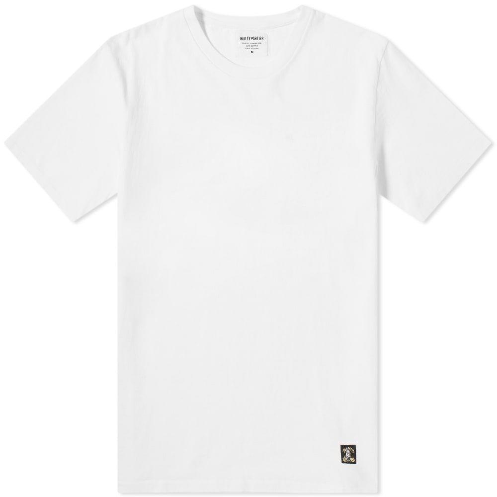 ワコマリア Wacko Maria メンズ Tシャツ トップス【Mary Back Print Tee】White