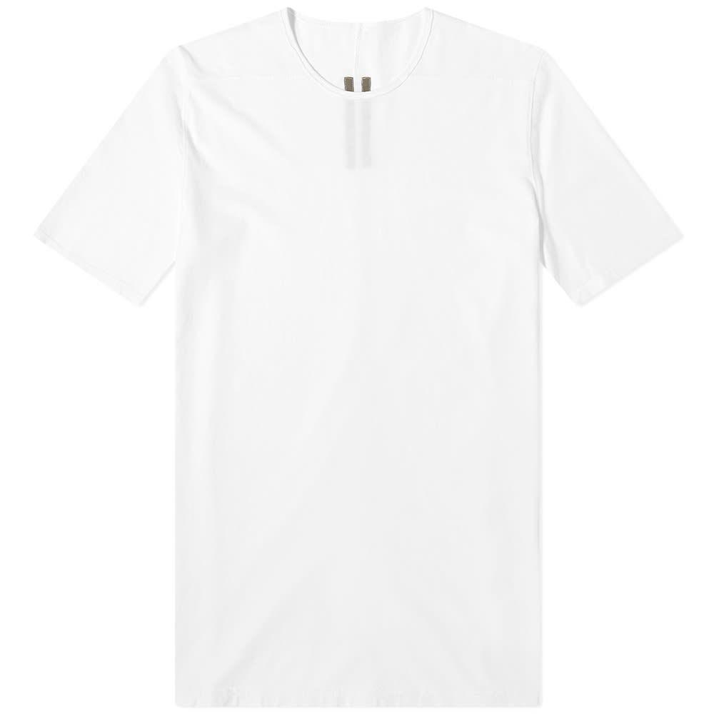 リック オウエンス Rick Owens メンズ Tシャツ トップス【DRKSHDW Level Tee】Chalk White