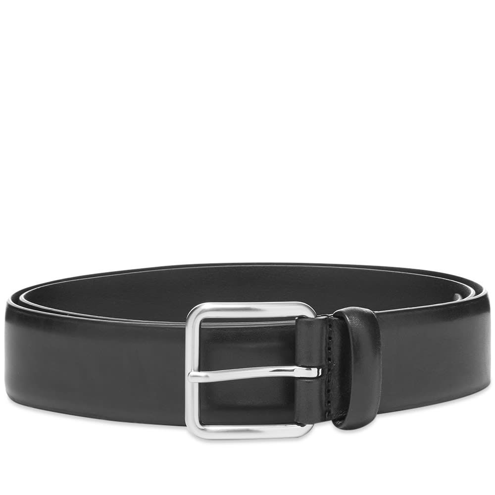 アンダーソンズ Andersons メンズ ベルト 【anderson's full grain leather belt】Black