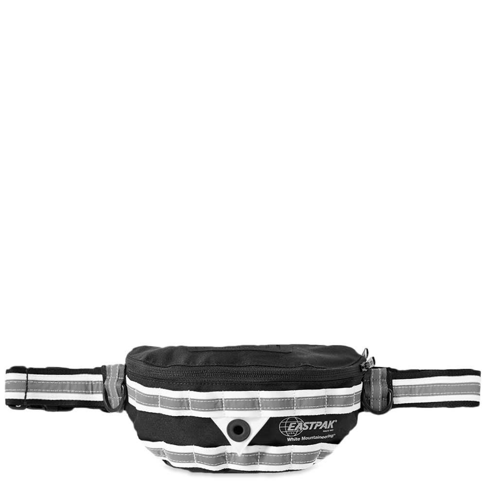 イーストパック Eastpak メンズ ボディバッグ・ウエストポーチ バッグ【x white mountaineering springer waist bag】Black/Silver