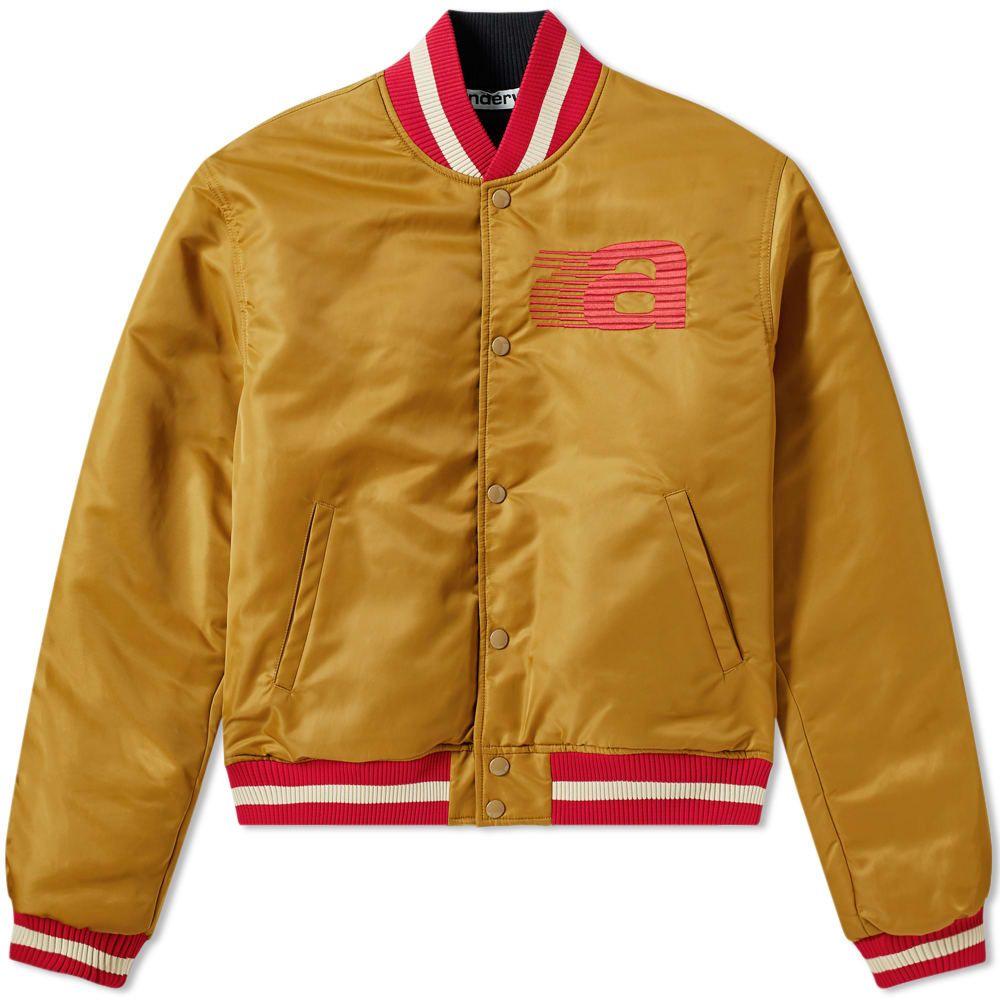 アレキサンダー ワン Alexander Wang メンズ ブルゾン ミリタリージャケット アウター【reversible nylon bomber jacket】Gold
