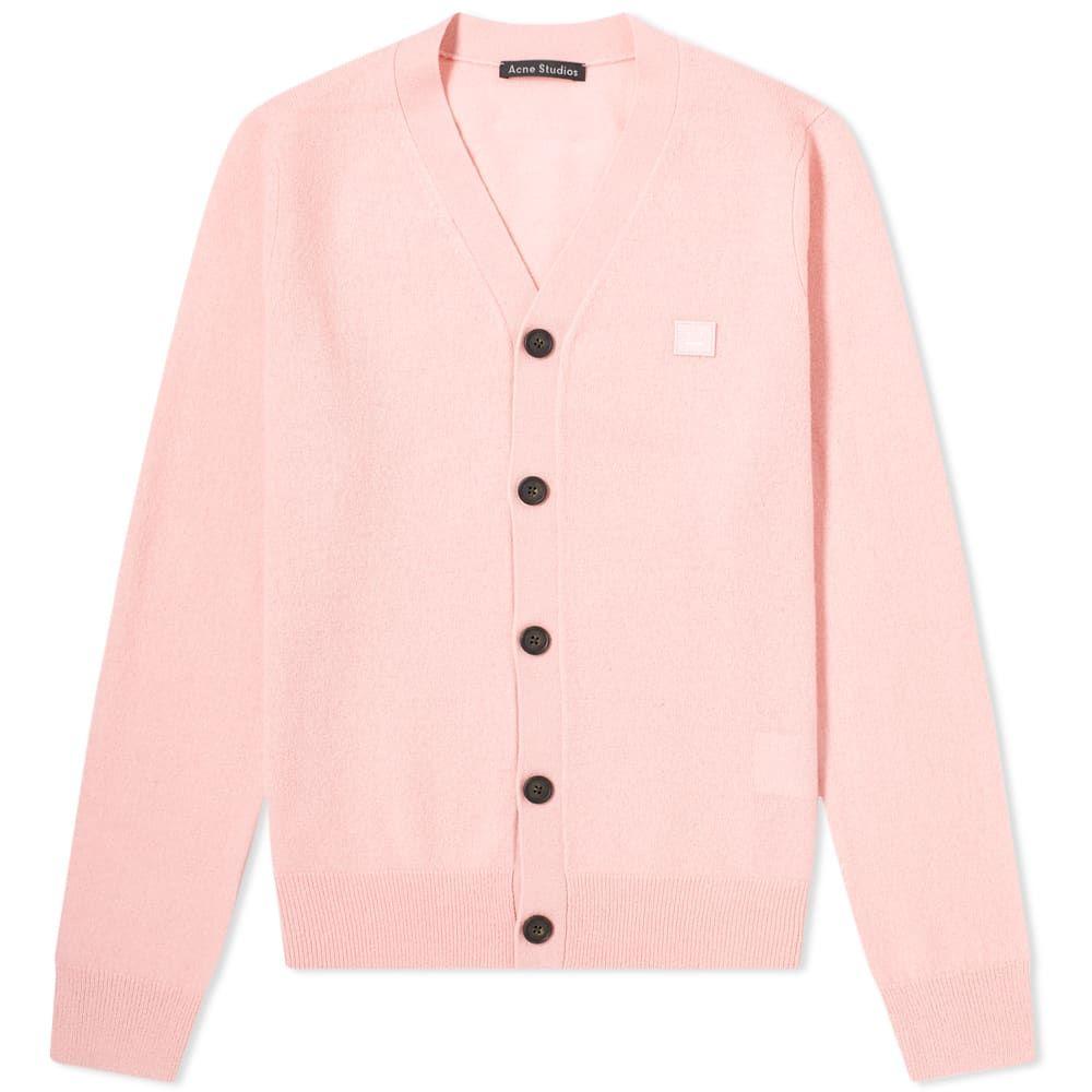 アクネ ストゥディオズ Acne Studios メンズ カーディガン トップス【Keve Face Cardigan】Blush Pink